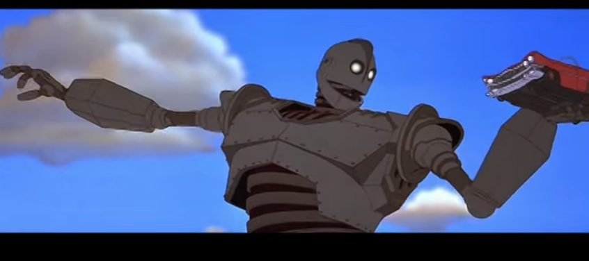 """""""The Iron Giant"""":A little boy and one wildly oversize toy"""