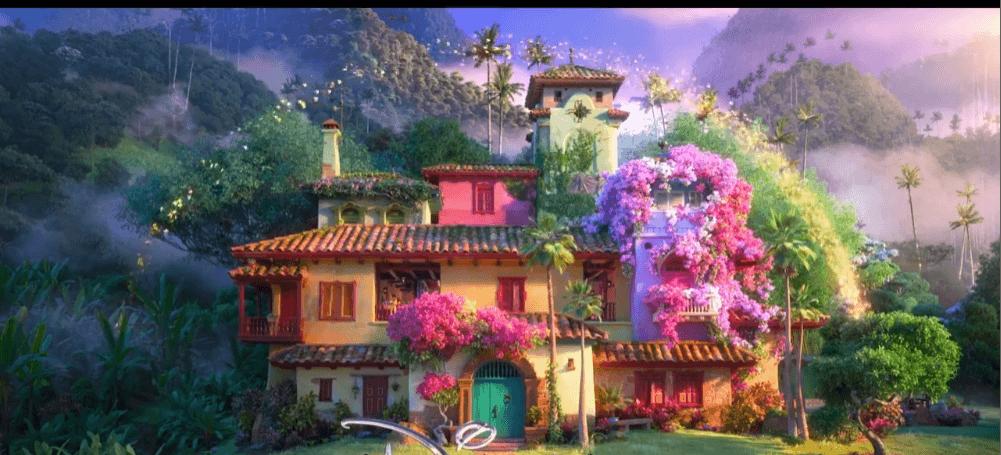 "Disney animation ""Encanto"" revealed the official trailer"