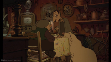 """""""The Triplets of Belleville"""": Exaggerated, grotesque design, non-mainstream animated movie!"""