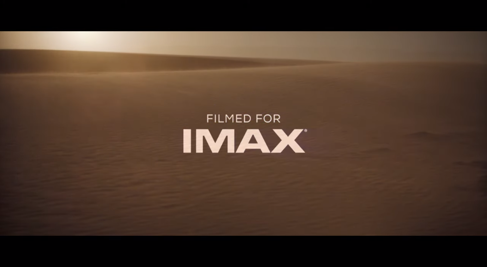 """""""Dune"""" will have more than one hour IMAX special frame"""