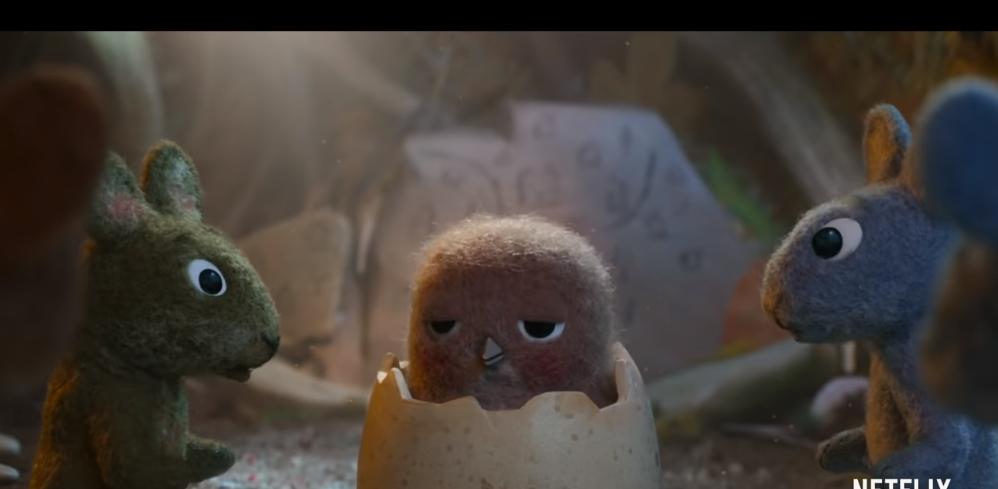 "Netflix felt animated short ""Robin Robin"" first exposure trailer"